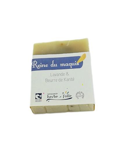 Savon REINE DU MAQUIS - Lavande & Beurre de Karité
