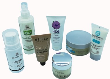 cosmetics face and body care